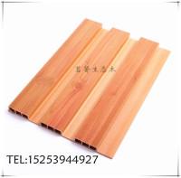 生态木长城板转印木纹效果