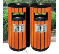 钢木垃圾桶A094