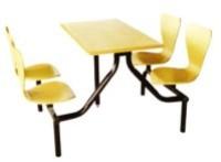 曲木4人位餐桌B033