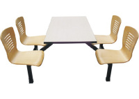 曲木4人位餐桌B035