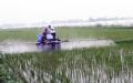 水稻自走式打药机