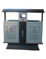 铁板垃圾桶-A6