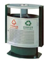 铁板垃圾桶-A7