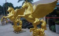 玻璃钢动物雕塑-A10