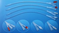 硅胶导尿管(二、三腔)